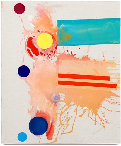 Egide Viloux, splash, 2006-2007 acrylique sur toile, 91 x 75 cm