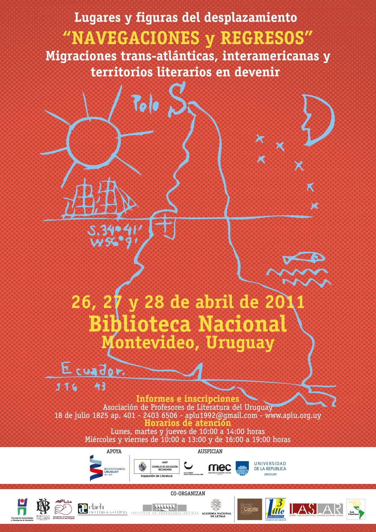 Affiche Montevideo