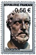 thucydide - timbre poste